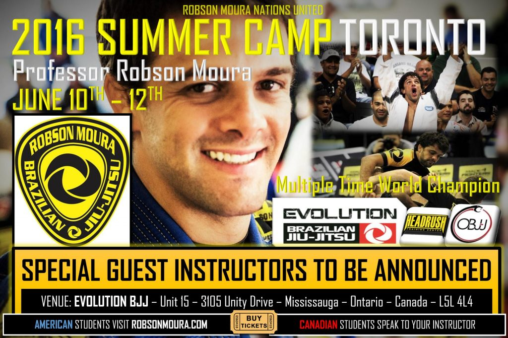 Robson Moura and blak belts - Brazilian Jiu Jitsu in Canada!