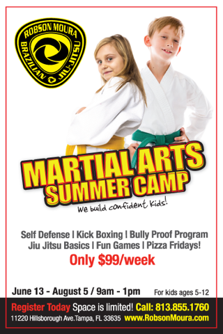 Kids love Jiu Jitsu and fitness - they can do both at Robson Moura Tampa HQ!