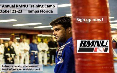 RMNU 5th Annual Brazilian Jiu Jitsu Training Camp!